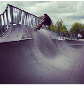 Danininy Marufoskavich tearing some parks in the northwest a new one